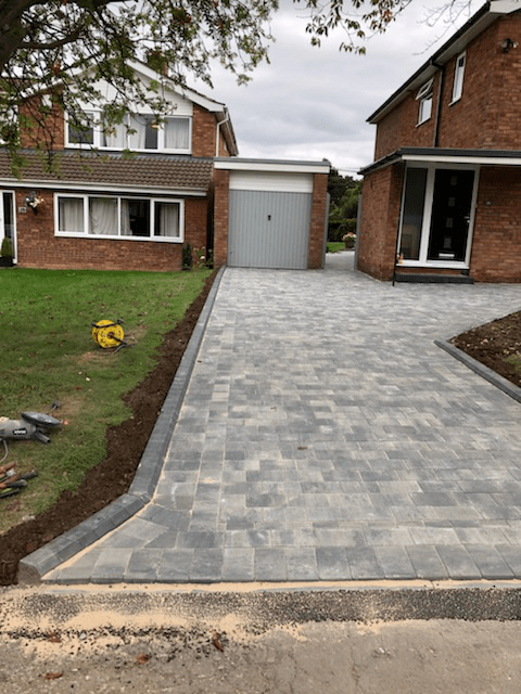 block paving Knavesmire