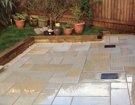 New Garden Patio Quote Roundhay